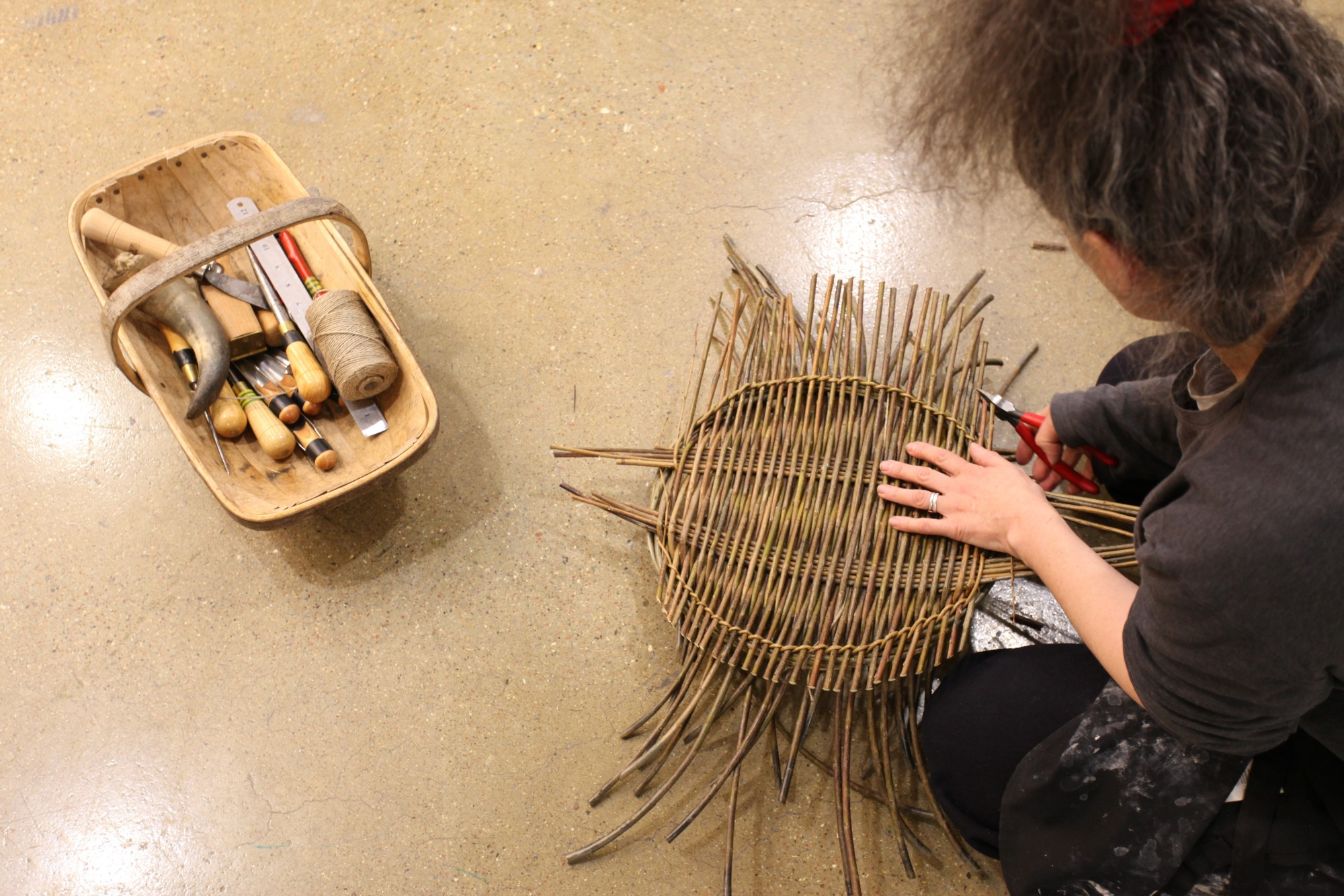 Basket Weaving O Que é : Festival of stuff institute making