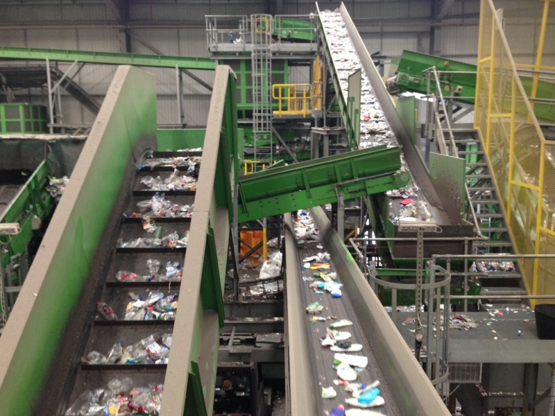 factory tour  closed loop recycling - blog