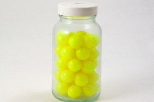 Fluorescent Paintballs