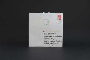 Stamp (French) & Envelope