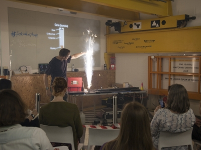 Members Event: Pyrotechnics with Matthew Tosh