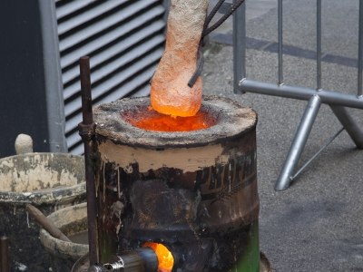 Members Masterclass: Furnace Making for the Luted Crucible Bronze Casting