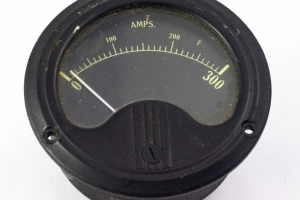 US Army Ammeter