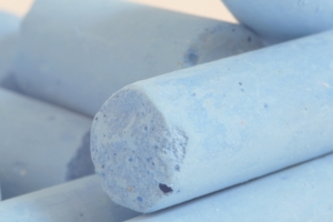 Blue Chalk Sticks