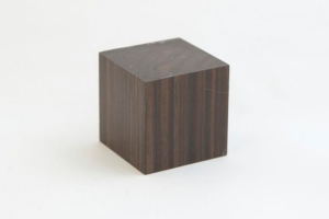 Tropical Hardwood Cube