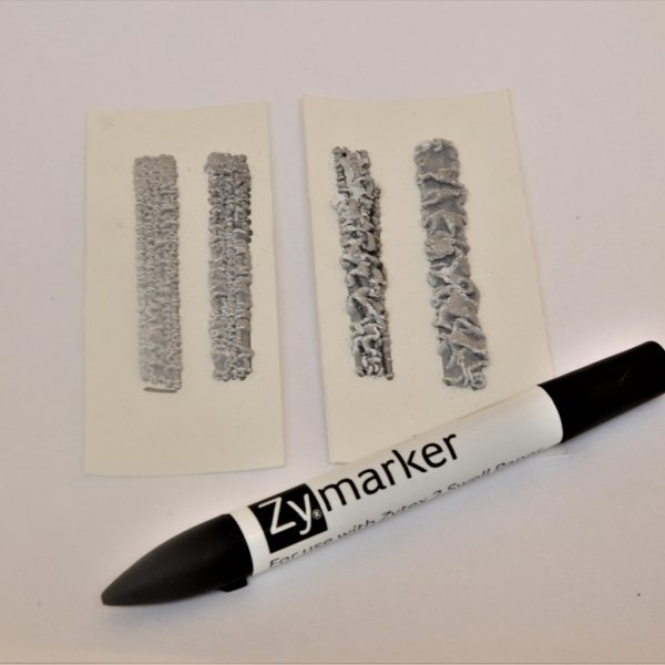 Swell Paper (Zytex 2) and Xychem Marker