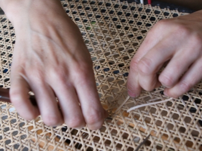 Festival of Stuff: Morning - Chair Caning Masterclass