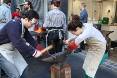 First Masterclass: Blacksmithing