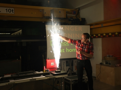 Festival of Stuff: Pyrotechnics with Matthew Tosh