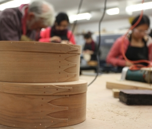 Festival of Stuff: Shaker Box Making